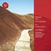 Strauss: Till Eulenspiegel; Ein Heldenleben by Lorin Maazel
