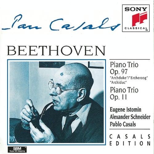 Beethoven:  Piano Trios Nos. 7 & 4 by Alexander Schneider; Eugene Istomin; Pablo Casals