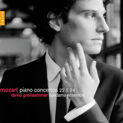 Mozart: Piano Concertos No. 22 & No. 24 by David Greilsammer