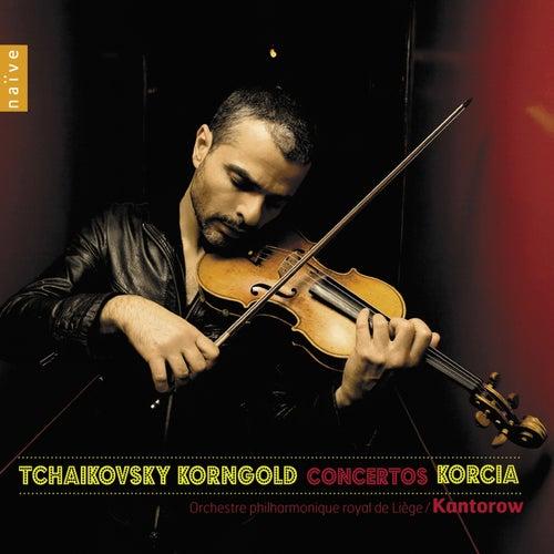 Korngold & Tchaïkovski: Concertos by Laurent Korcia