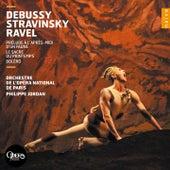 Debussy, Stravinsky, Ravel by Louis Jordan