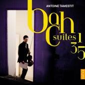 Bach: Suites No. 1, No. 3, No. 5 by Antoine Tamestit