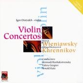 Wieniawski: Violin Concertos Nos. 1 & 2 - Khrennikov: Three Pieces for Violin by Various Artists