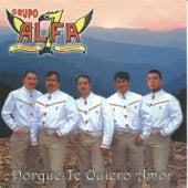 Porque Te Quiero Amor by Grupo Alfa 7