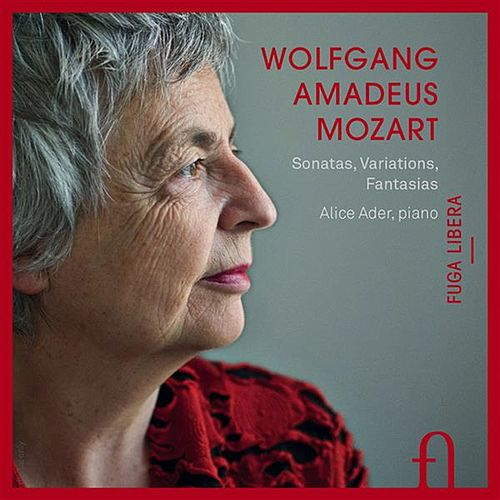 Mozart: Sonatas, Variations & Fantasias by Alice Ader