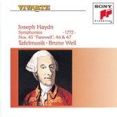 Haydn: Symphonies Hob. I: 45, 46 & 47 by Tafelmusik