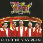 Quiero Que Seas para Mi by Grupo Alfa 7