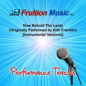 Now Behold the Lamb (Originally Performed by Kirk Franklin) [Instrumental Performance Tracks] by Fruition Music Inc.