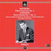 Beethoven: Piano Concerto No. 3 - Schumann: Piano Sonata No. 1 by Emil Gilels
