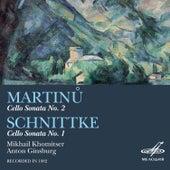 Martinů & Schnittke: Cello Sonatas by Anton Ginsburg