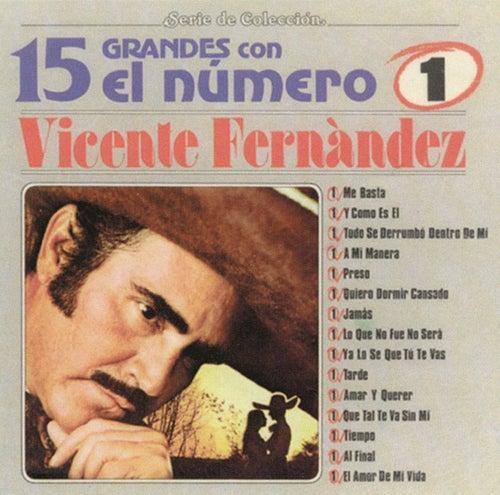 15 Grandes Con El Numero 1 by Vicente Fernández