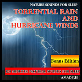 Nature Sounds for Sleep: Torrential Rain and Hurricane Winds: Bonus Edition by Amadeus