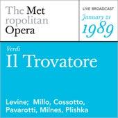 Verdi: Il Trovatore (January 21, 1989) by Metropolitan Opera