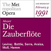 Mozart: Die Zauberflote(February 9, 1991) by Wolfgang Amadeus Mozart