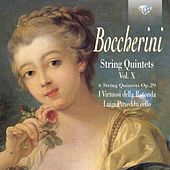 Boccherini: String Quintets, Op. 29, vol. X by Federico Guglielmo I Virtuosi della Rotonda