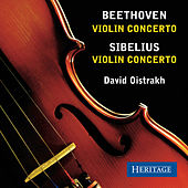 Beethoven and Sibelius Violin Concertos by David Oistrakh