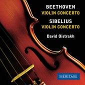 Beethoven and Sibelius Violin Concertos by David Oistrakh