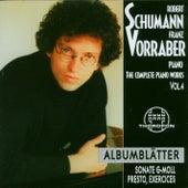 Robert Schumann: Complete Piano Works 4 by Franz Vorraber