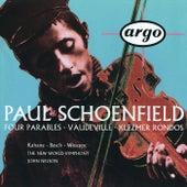 Schoenfield: 4 Parables; Vaudeville; Klezmer Rondos by Various Artists