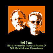 1991-03-09 The Warfield Theatre, San Francisco, CA by Hot Tuna