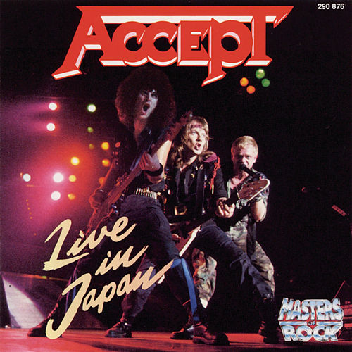 Live In Japan von Accept