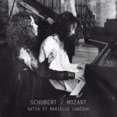 Schubert & Mozart by Katia Labèque; Marielle Labèque