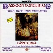 Rosetti / Danzi / Winter / Weber: Bassoon Concertos by Laszlo Hara