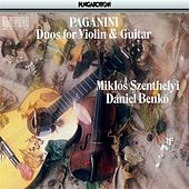 Paganini: Duos for Violin and Guitar by Miklos Szenthelyi