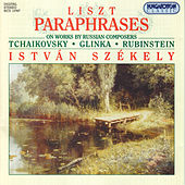 Liszt: Paraphrases on Works by Russian Composers by Istvan Szekely