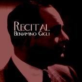 Recital by Beniamino Gigli