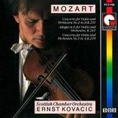Mozart: Violin Concerto Nos. 2 & 5 by Ernst Kovacic