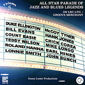 All Star Parade of Jazz and Blues Legends, Vol. 5 - The Pianos by Various Artists
