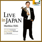Live in Japan - Arutiunian & Hummel: Trumpet Concerto - by Various Artists