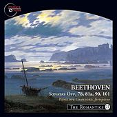 The Romantics, Vol. 21: Beethoven Piano Sonatas, Opp. 78, 81a, 90 & 101 by Penelope Crawford