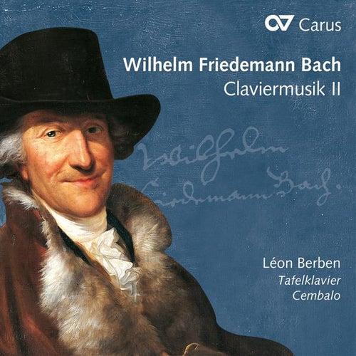 W.F. Bach: Claviermusik, Vol. 2 by Léon Berben