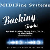 Real Book Standards Backing Tracks, Vol. 24 (Play Along Version) by MIDIFine Systems