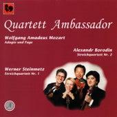 Mozart: Adagio and Fugue in C Minor, K. 546 - Borodin: String Quartet No. 2 in D Major - Steinmetz: String Quartet No. 1 by Quartett Amassador
