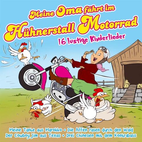 Meine Oma fährt im Hühnerstall Motorrad - 16 lustige Kinderlieder by Partykids