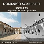 Sonatas for piano and for harpsichord, Vol. 1 by Claudio Colombo