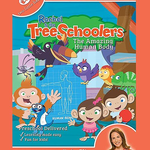 Rachel & the TreeSchoolers the Amazing Human Body by Rachel Coleman