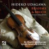 Brahms and Bruch Violin Concertos by Hideko Udagawa