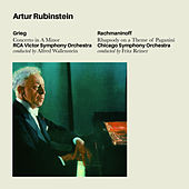 Grieg: Concerto in a Minor & Rachmaninoff: Rhapsody on a Theme of Paganini (Bonus Track Version) by Artur Rubinstein