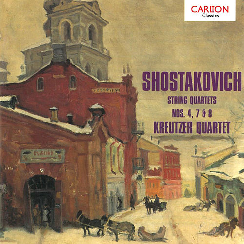 Shostakovich: String Quartets by Kreutzer Quartet