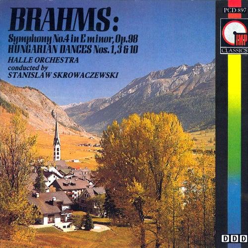 Brahms: Symphony No. 4 in E Minor by Stanislaw Skrowaczewski