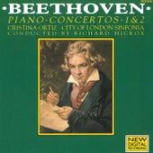 Beethoven: Piano Concertos 1 & 2 by Cristina Ortiz