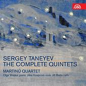 Taneyev:  The Complete Quintets by Various Artists