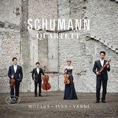 Mozart, Ives & Verdi: String Quartets by Schumann Quartett