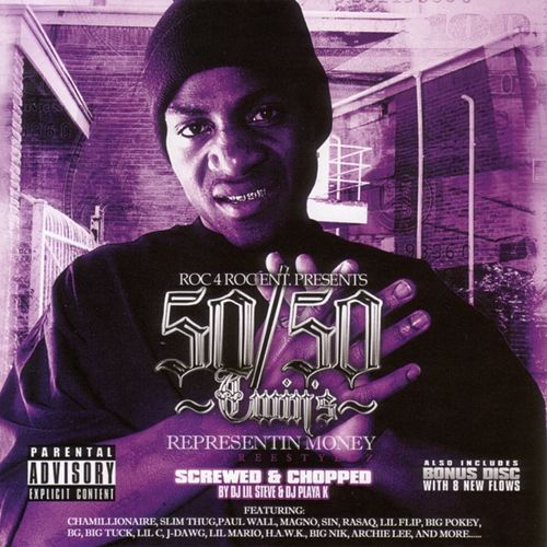 Representin Money Chopped And Screwed by Various Artists