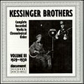 Kessinger Brothers (Clark & Lucas) Vol. 3 (1929-1930) by Kessinger Brothers