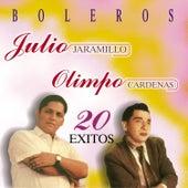 Boleros - 20 Éxitos - Julio Jaramillo y Olimpo Cárdenas by Various Artists